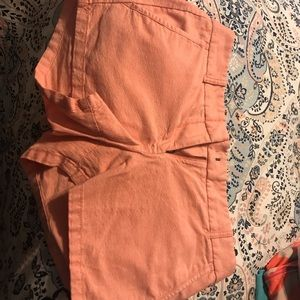 Coral Shorts from J.Crew